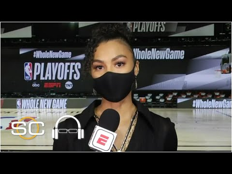 NBA players hurting after Breonna Taylor announcement – Malika Andrews   SC with SVP