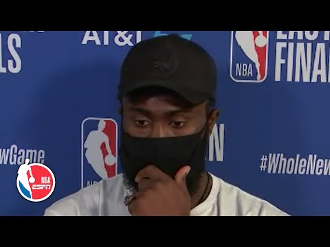Jaylen Brown delivers strong message on Breonna Taylor ruling | 2020 NBA Playoffs