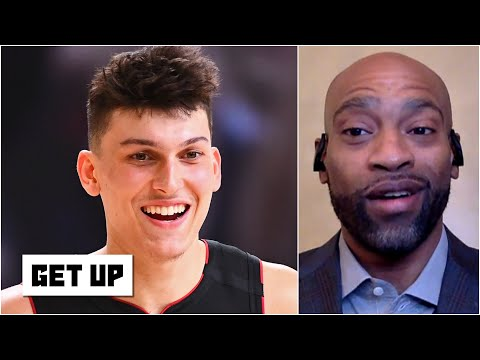 Vince Carter: Tyler Herro played 'like the superstar that he will be' in Game 4   Get Up