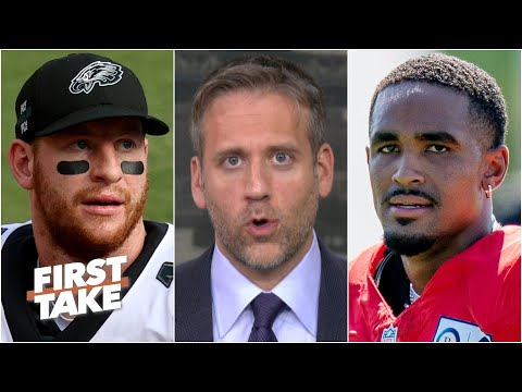 Jalen Hurts will be the Eagles' QB if Carson Wentz's struggles continue – Max Kellerman | First Take