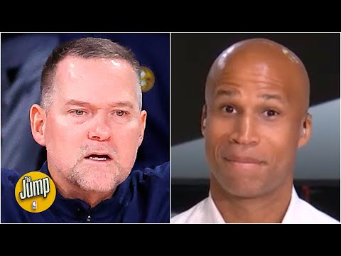 Reacting to Mike Malone's frustrations with the officiating in Game 4 vs. the Lakers | The Jump