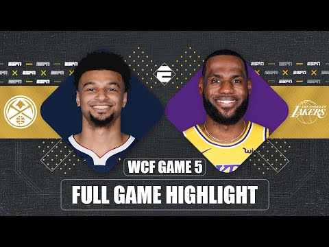 Denver Nuggets vs. Los Angeles Lakers [GAME 5 HIGHLIGHTS] | 2020 NBA Playoffs
