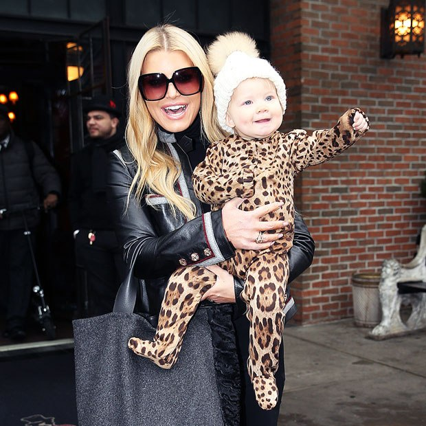 Jessica Simpson & daughter Birdie