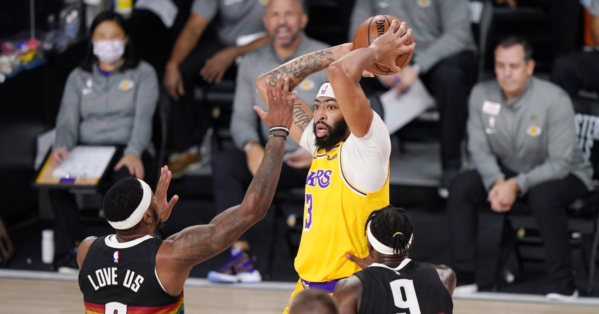 Too much room for comfort? Lakers fall into Nuggets' sweet spot with Game 4 win