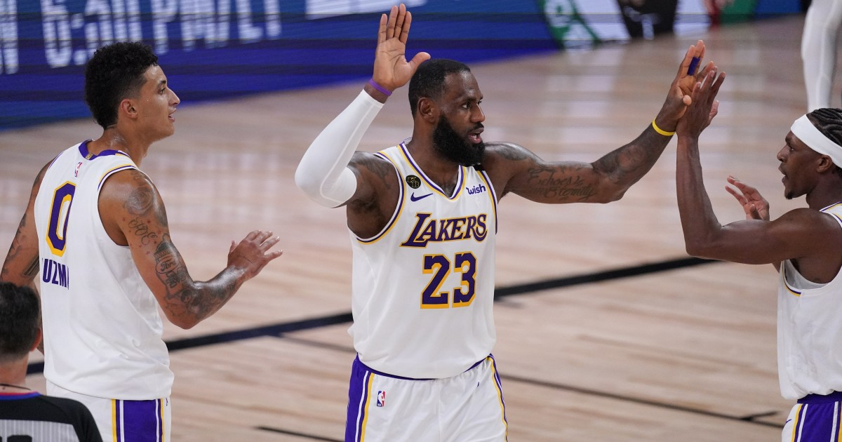How LeBron James sparked the defense in Lakers' Game 3 win