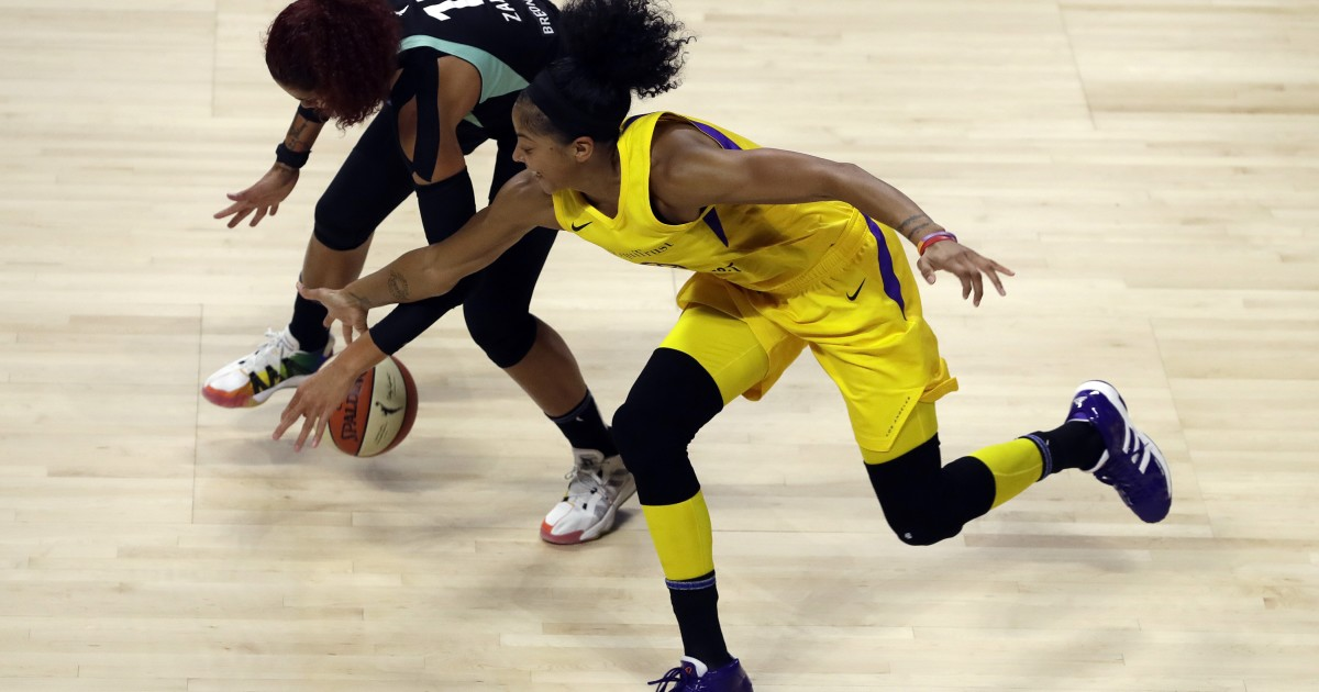 Sparks' Candace Parker chosen WNBA defensive player of the year