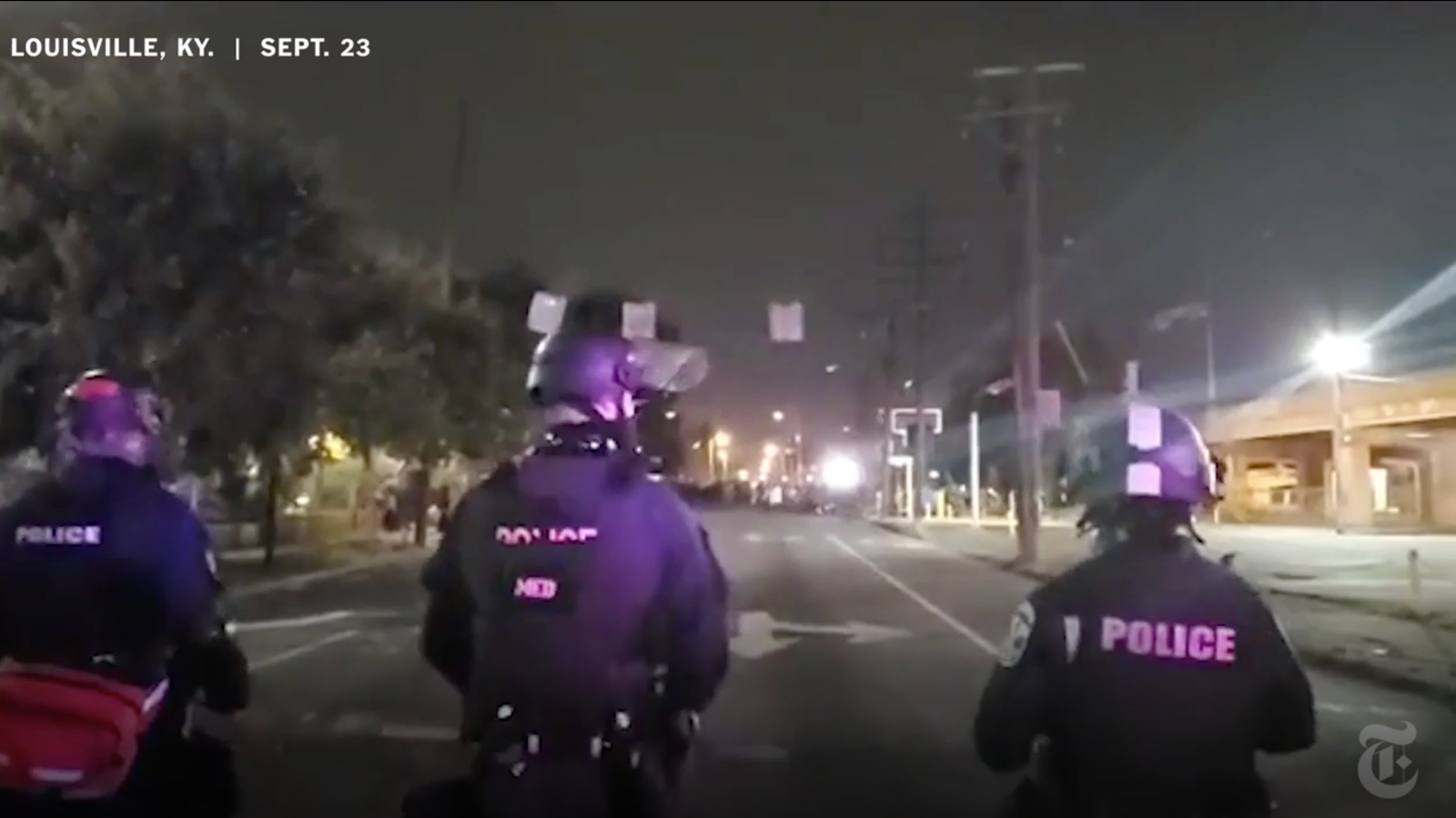 Videos Show Gunman Firing at Police During Louisville Protest