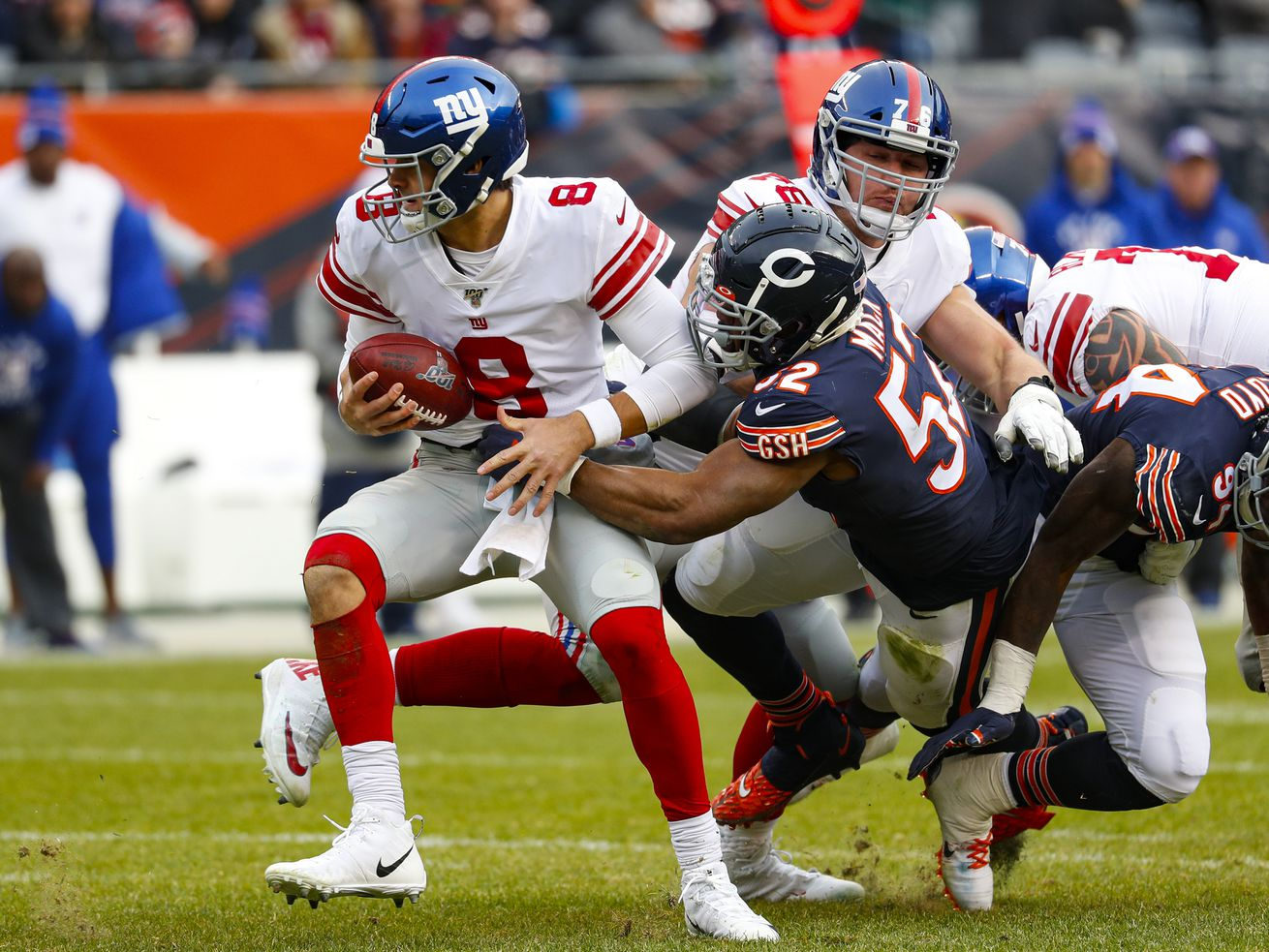 Bears vs. Giants: What to Watch 4