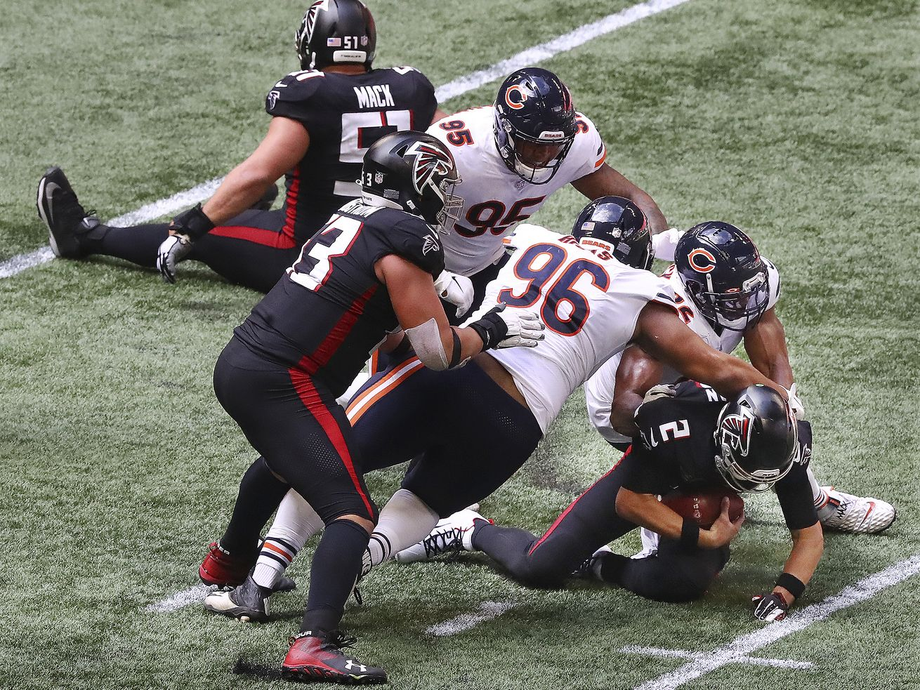 Akiem Hicks, Khalil Mack lead defensive turnaround