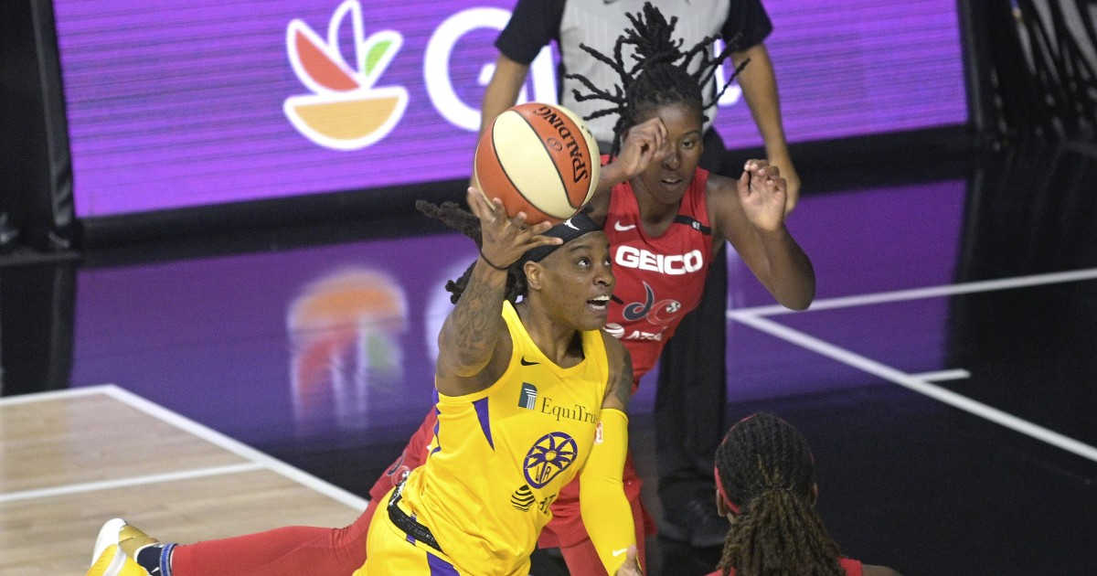 Sparks can't hold back Mystics' late run in loss