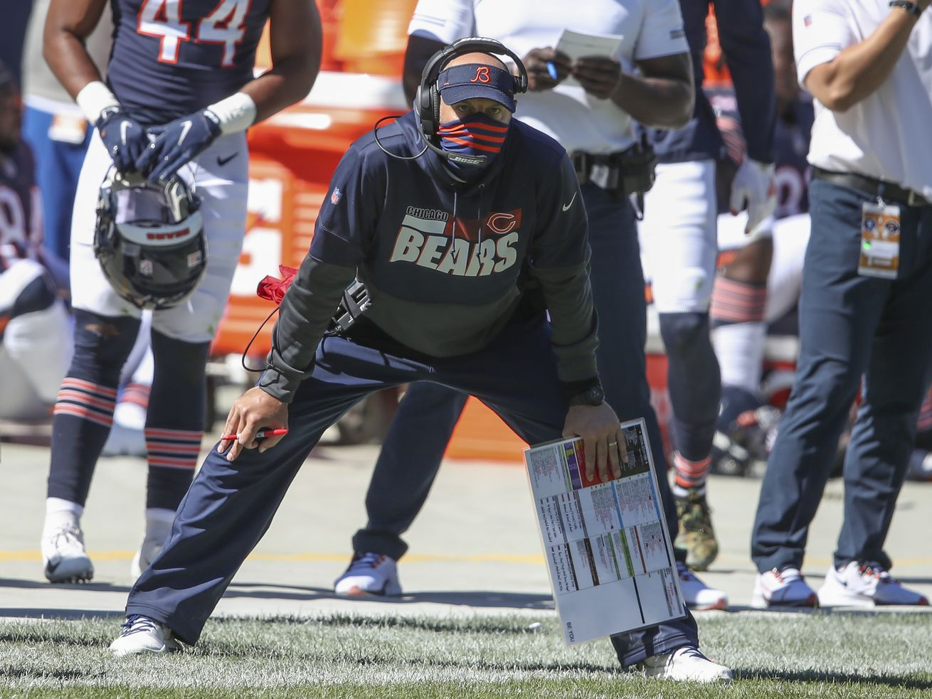 Bears' Matt Nagy, Falcons' Dan Quinn both struggling with their specialties
