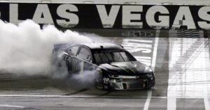 Kurt Busch ends his Las Vegas losing streak and advances in NASCAR playoffs
