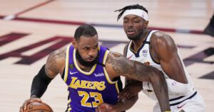LeBron James surges late to lead Lakers past Nuggets and into the NBA Finals