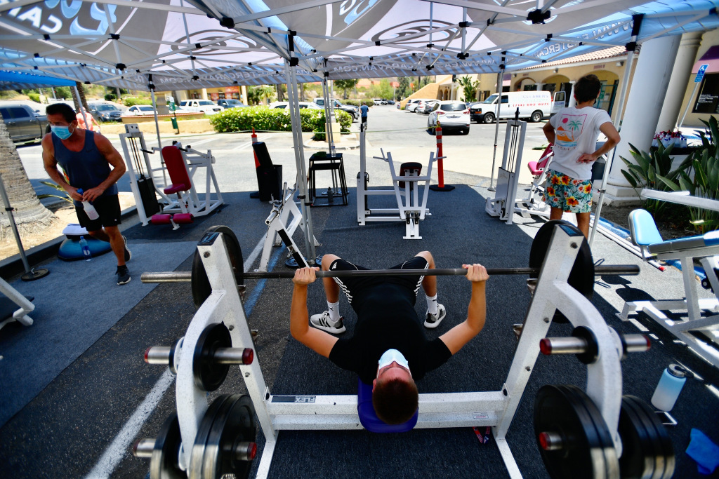 California fitness centers sue state over virus closures