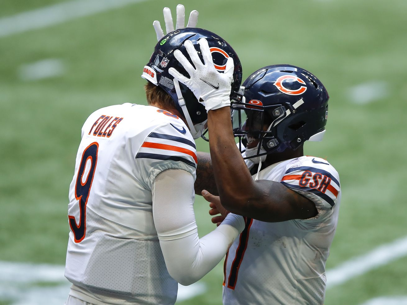 Buckle up for a wild ride as Nick Foles replaces Mitch Trubisky as Bears QB