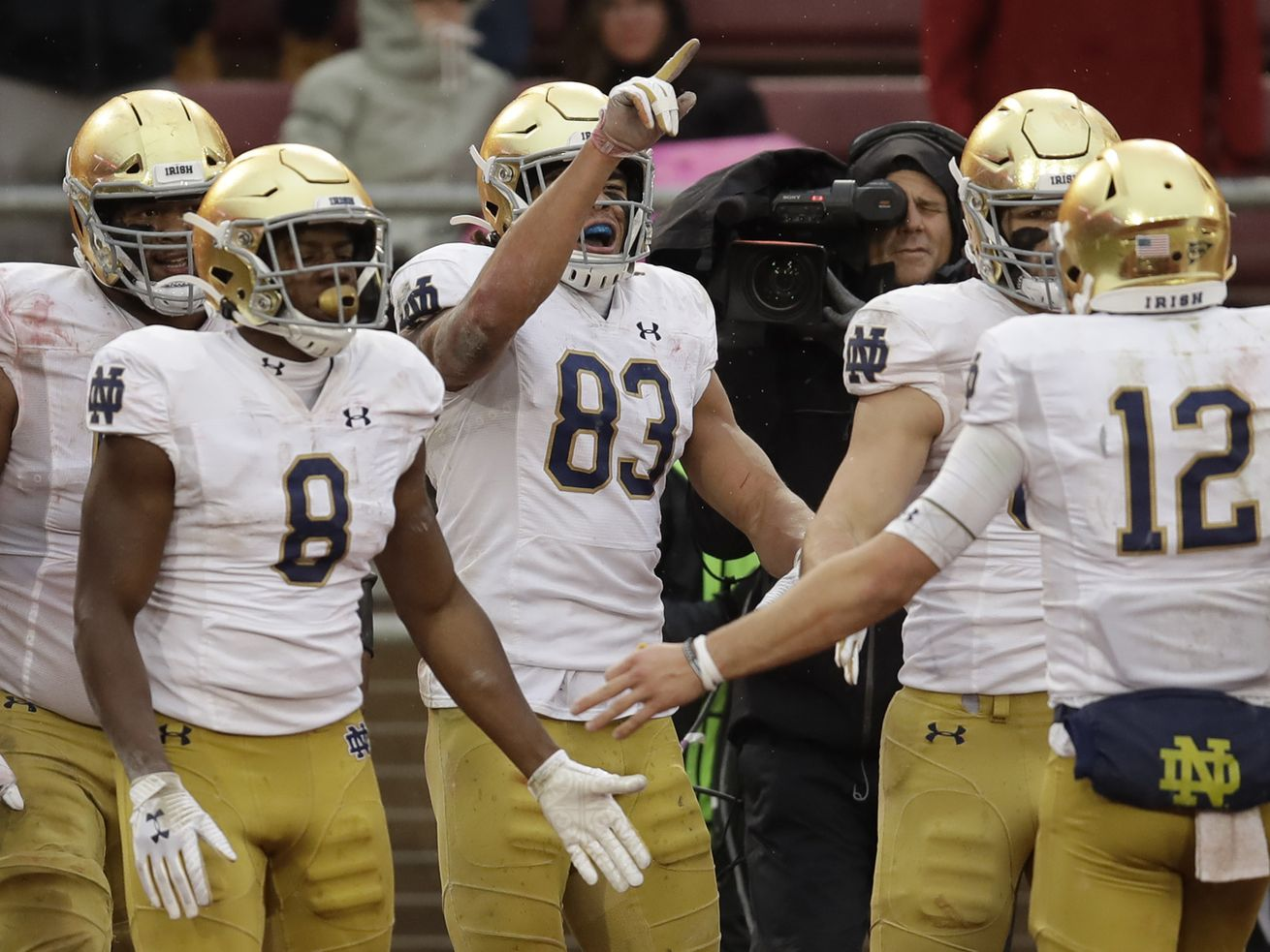 Notre Dame-Wake Forest football game is rescheduled for Dec. 12