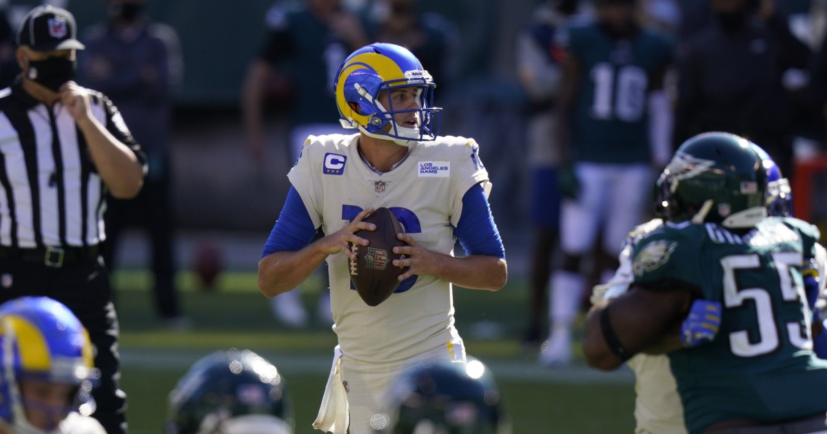 Rams' 37-19 road victory over the Philadelphia Eagles by the numbers