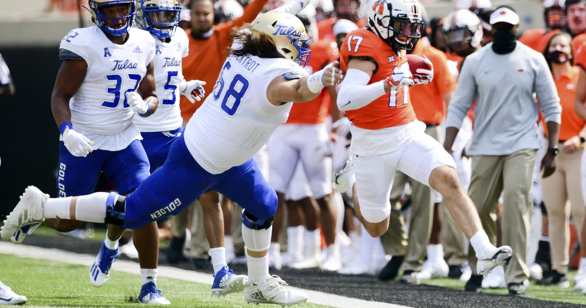 College football: No. 11 Oklahoma State avoids upset