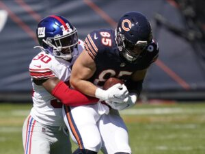 Bears TEs short on yards, big on blocks