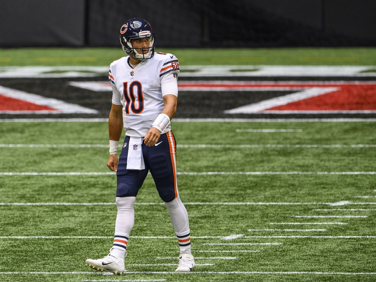 Bears' Mitch Trubisky will be defined by how he handles benching