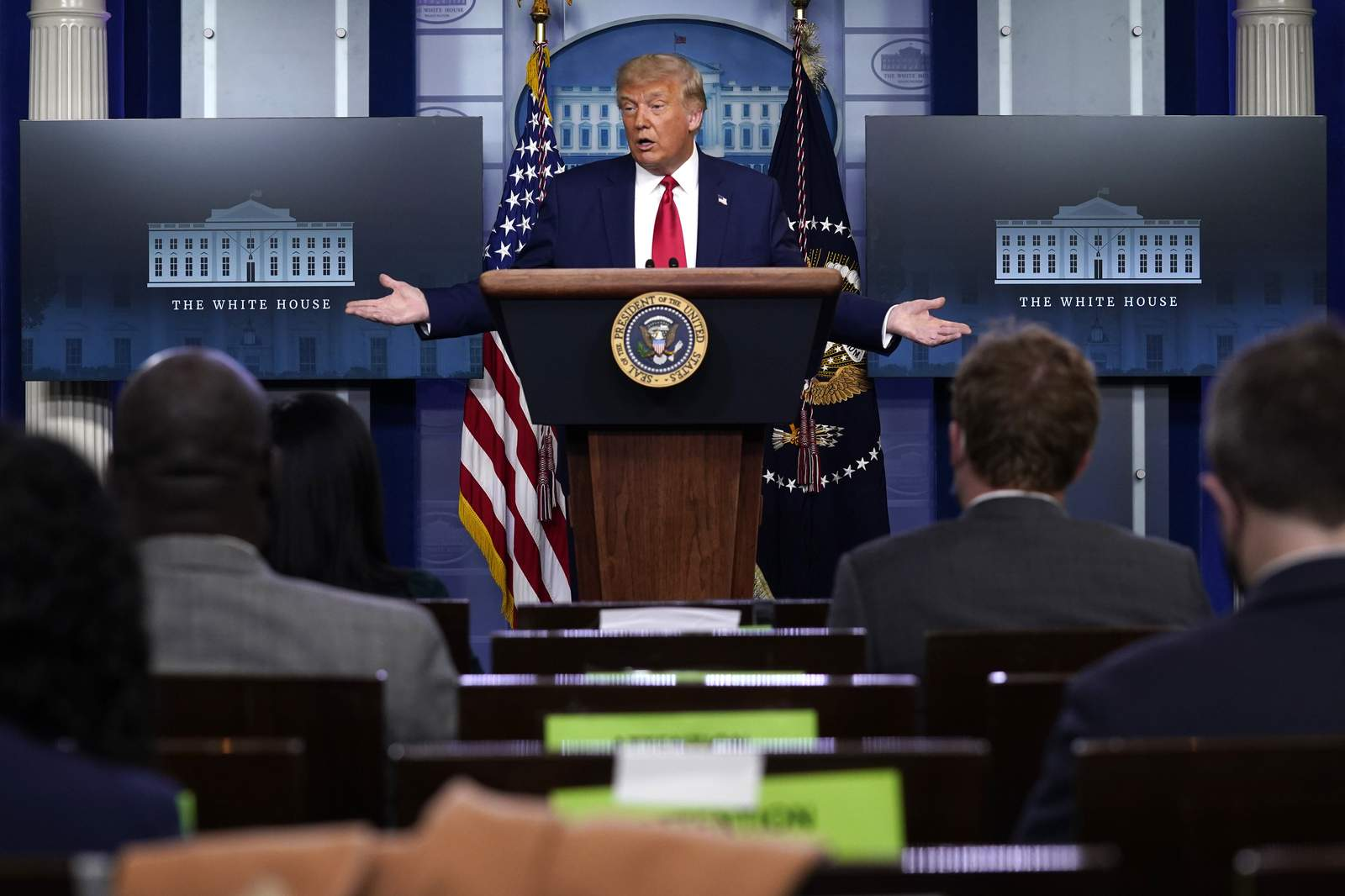 Trump says he knows better than experts