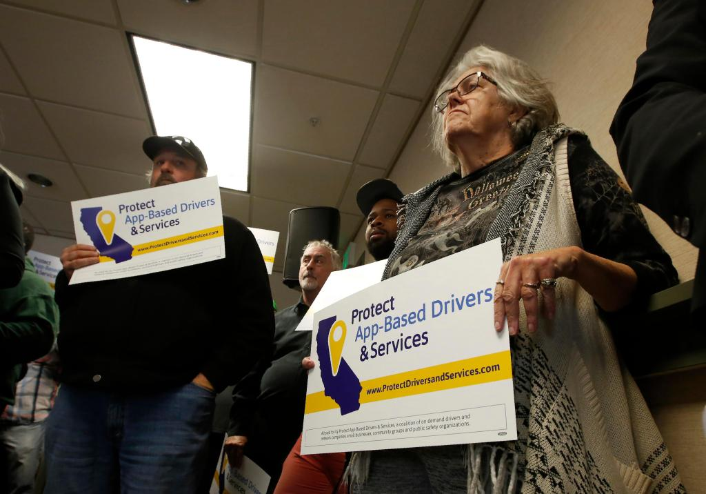 Prop. 22: Uber, Lyft look to kill California law on app-based drivers