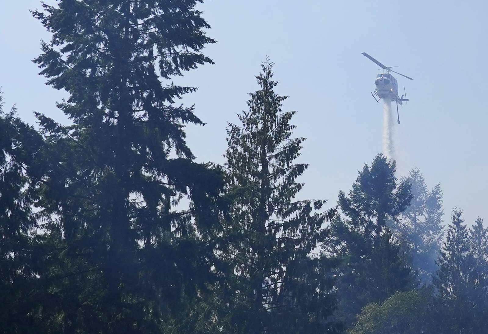 Fires without precedent rage in usually cool, wet Northwest