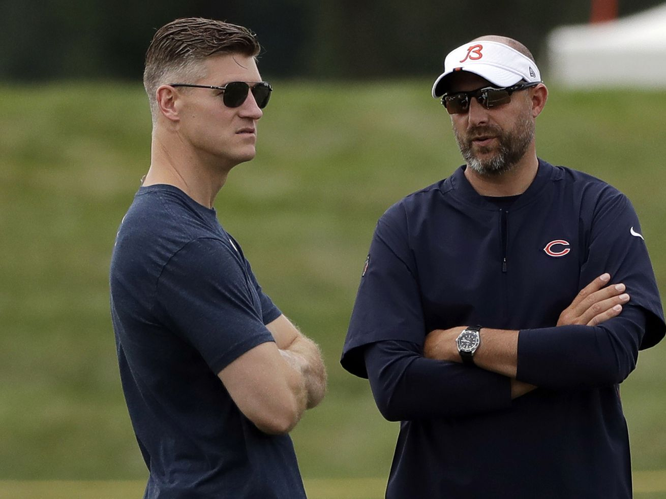 Bears' braintrust on the brink: What's at stake for Ryan Pace, Matt Nagy in 2020?