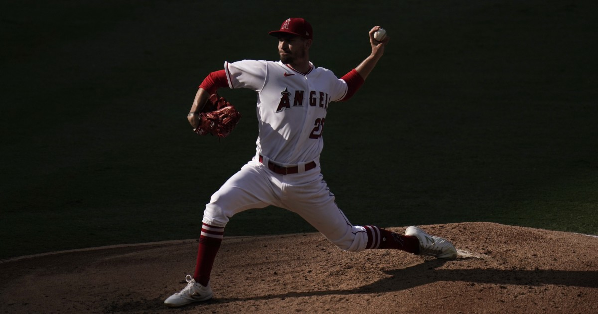 Andrew Heaney pitches a gem as Angels spoil Mike Clevinger's Padres debut