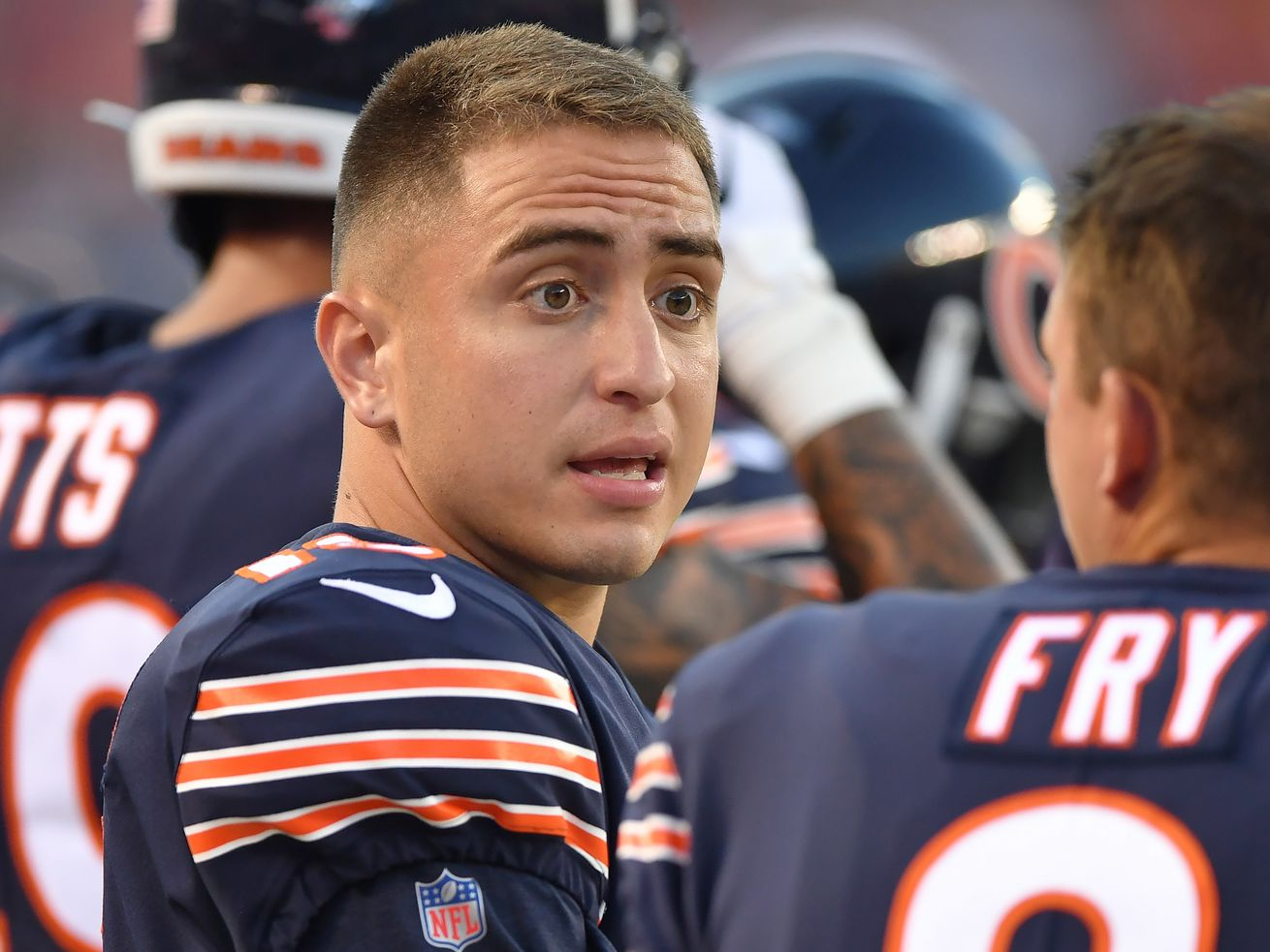 Bears put kicker Eddy Pineiro on injured reserve; Cairo Santos to kick vs. Lions