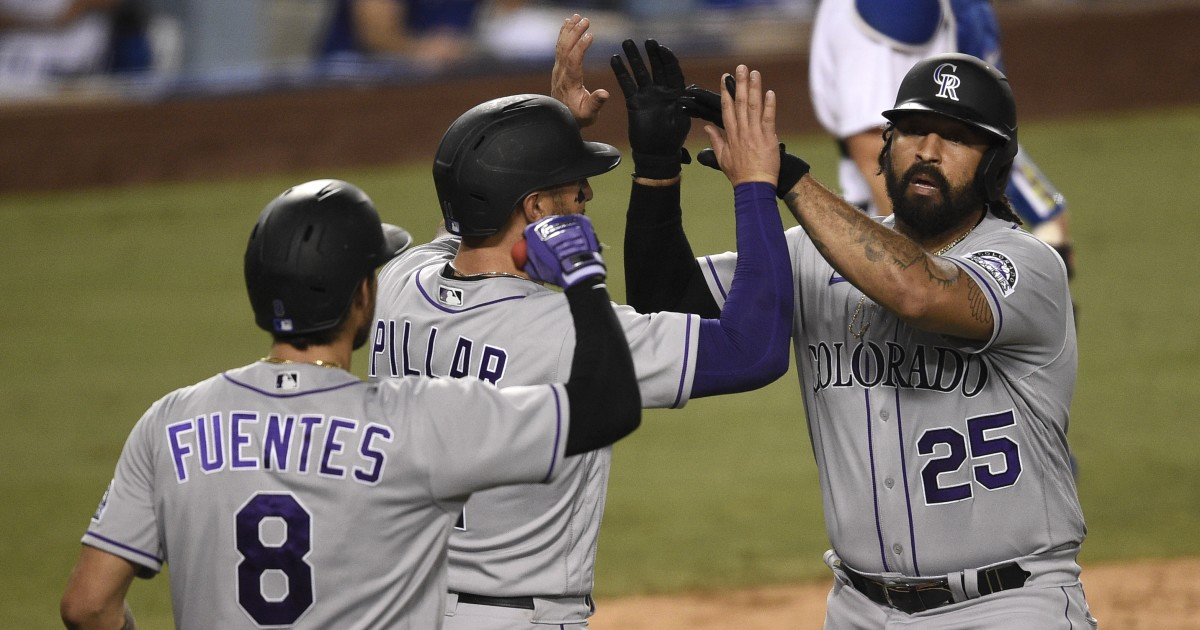 Matt Kemp's late home run extends Dodgers' bullpen woes in loss to Rockies