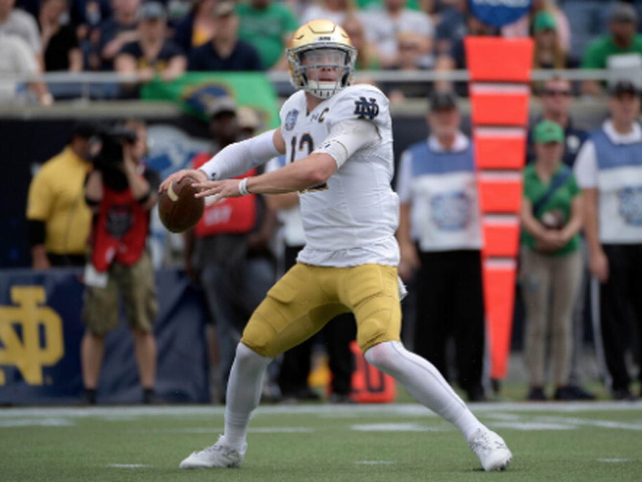 Notre Dame football season on hold