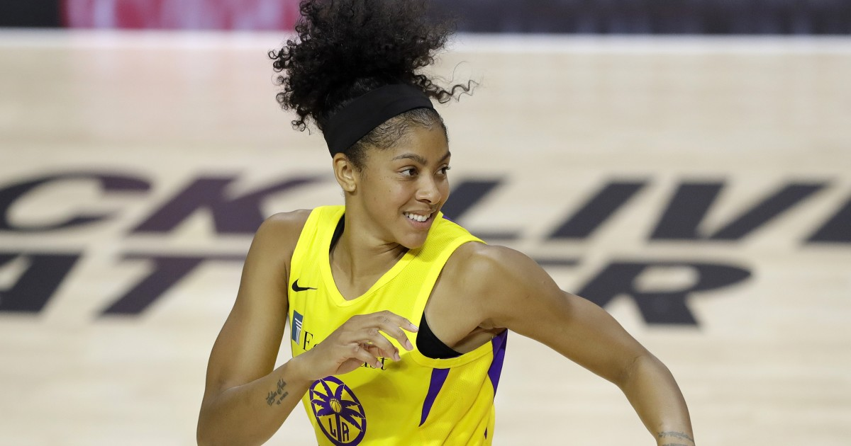 Sparks' Candace Parker is named WNBA defensive player of the year