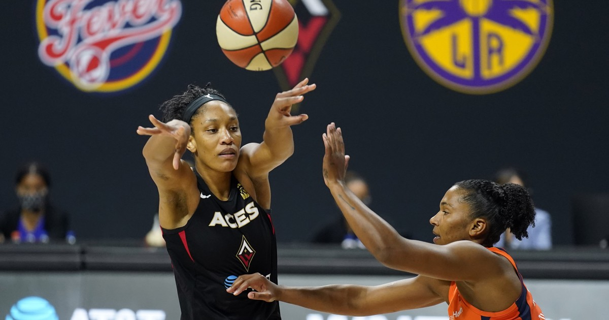 WNBA playoffs: Aces even series with Sun