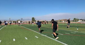 Seven Santa Clarita Valley schools successfully launch football workouts