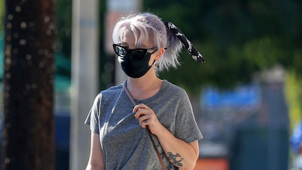 Kelly Osbourne Stuns In Fitted Pants During Lunch Outing After Dropping 85 Pounds – See Pics