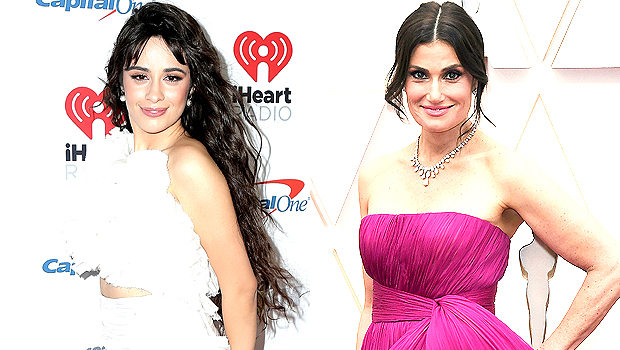 Camila Cabello & Idina Menzel Cozy Up Together In Behind The Scenes Pic From 'Cinderella' Set