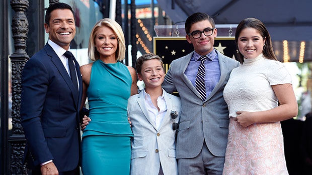 Kelly Ripa's Sons Michael, 23, & Joaquin, 17, Look So Grown Up In Her National Sons' Day Tribute