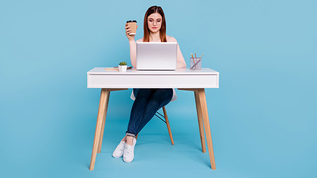 This Mobile Desk Is Still Available Despite The Desk Shortage & It's A Steal At $34