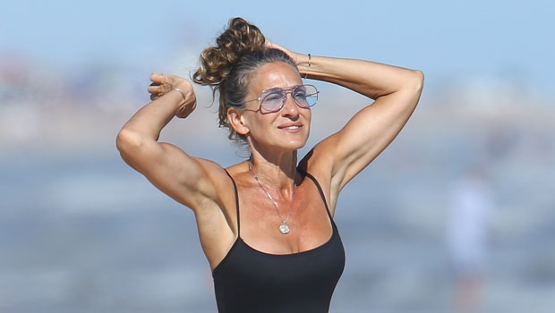 Sarah Jessica Parker, 55, Stuns In A Swimsuit At The Beach With Husband Matthew Broderick: Pics