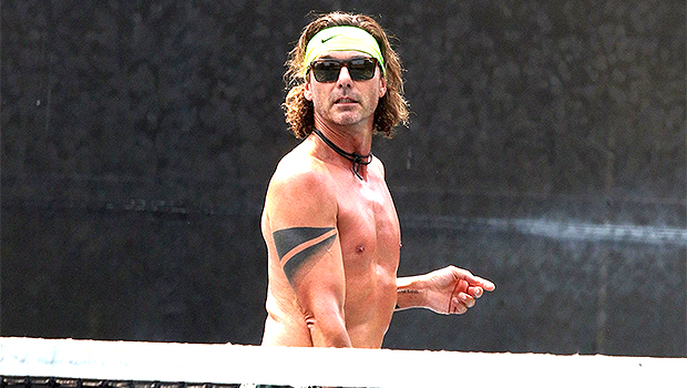 Gavin Rossdale, 54, Plays Tennis Shirtless On Labor Day: Plus, More Hunks Exercising Without Shirts