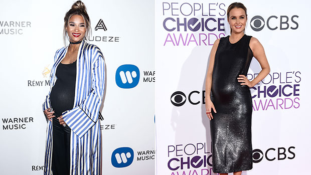 Pregnant Stars Rocking Bathing Suits & Baby Bumps in Spring & Summer 2020— See Pics