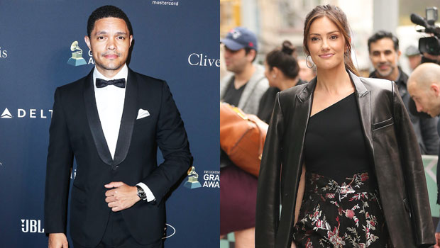 Trevor Noah & Minka Kelly Pictured For The 1st Time Outside His NYC Apartment Amid New Romance