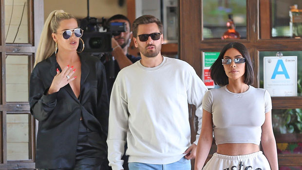 Kim Kardashian, Khloe & Scott Disick Film 'KUWTK' In Malibu 3 Days After Announcing Show Will End