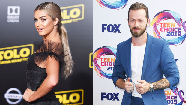 Lindsay Arnold Says She's Texted Artem Chigvintsev 'So Much' Since Matteo's Birth: He's 'A Great Dad'