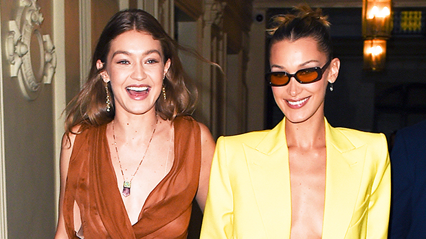 Bella Hadid Compares Her 'Burger' Baby To Gigi's Baby Bump In Gorgeous Sister Pic