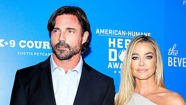 Denise Richards Finally Addresses Husband Aaron Phypers' 'I'm Going To Crush Your Hand' Comment