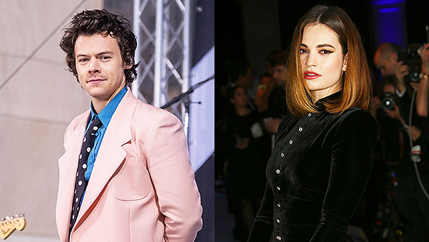 Harry Styles Fans Melt Amid Reports He's In Talks To Star In Lily James Movie: 'What The Heck?'