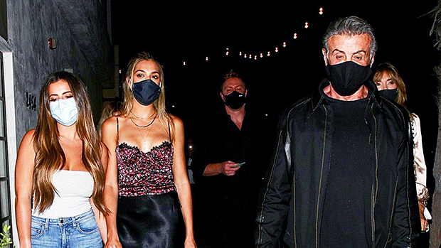 Brielle Biermann, 23, Bonds With Sistine, 22, & Sophia Stallone, 24, On Night Out With Famous Parents — Pics