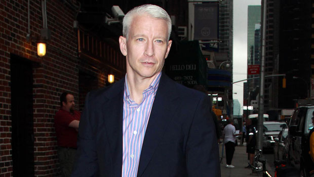 Anderson Cooper Shares Cutest Pic With 'Happy Baby' Wyatt, 4 Mos. & Reveals He Started Teething